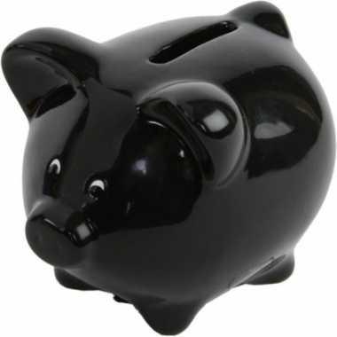 Spaarvarken zwart